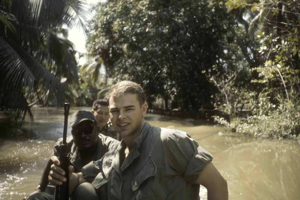 Canale in Loc Hoa Village, Vietnam 1971