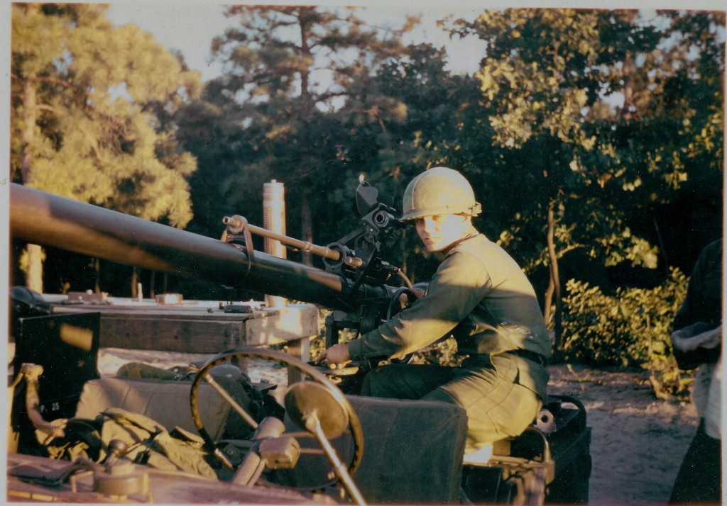 PVT Thomas with a 106 mm RR at Fort Dix