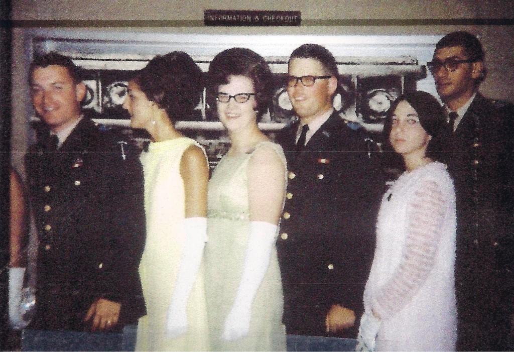 Ed & Paula Luke, Joe & Joyce Hoover, Ted Kattouf & Date